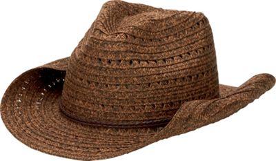 San Diego Hat Open Weave Cowboy Hat With Braided Trim