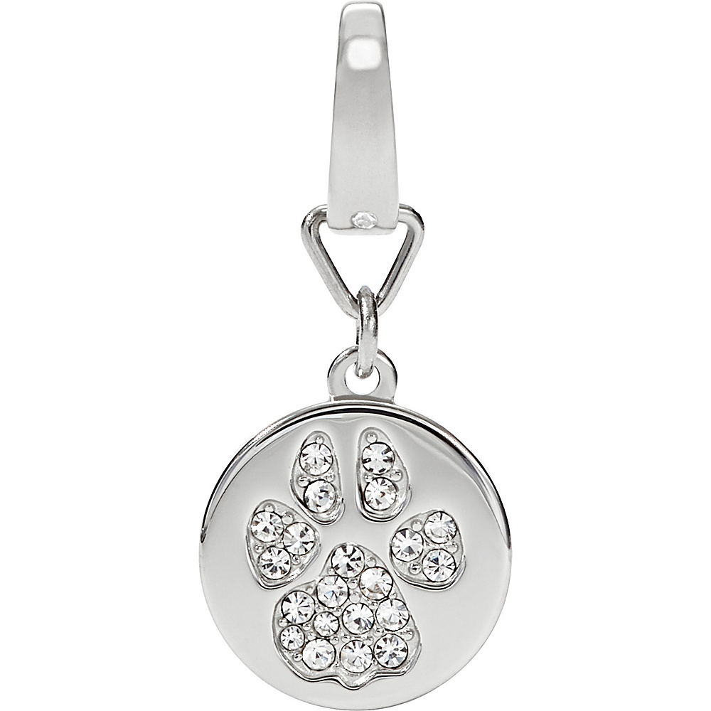 Fossil Paw Print Charm Silver - Fossil Other Fashion Accessories - Fashion Accessories, Other Fashion Accessories