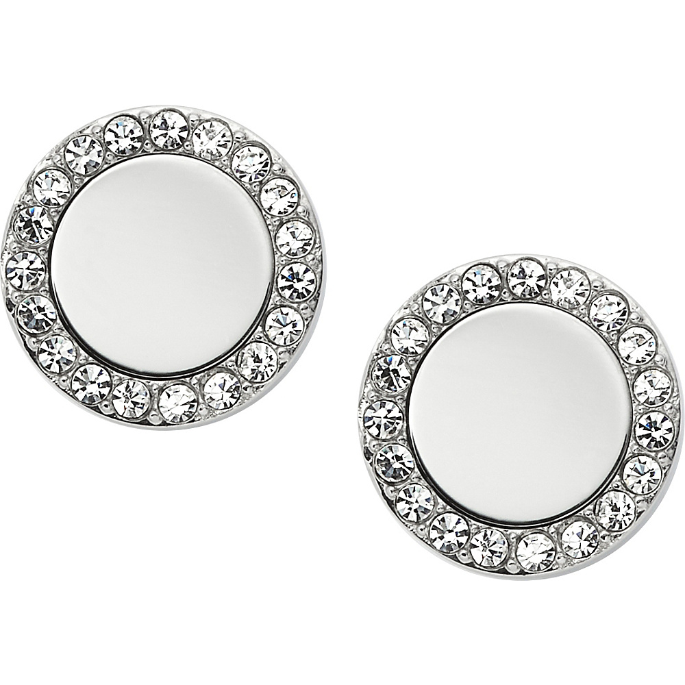 Fossil Glitz Metal Studs Silver - Fossil Other Fashion Accessories - Fashion Accessories, Other Fashion Accessories