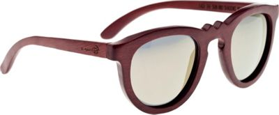 Earth Wood Venice Sunglasses Red Rosewood - Earth Wood Sunglasses