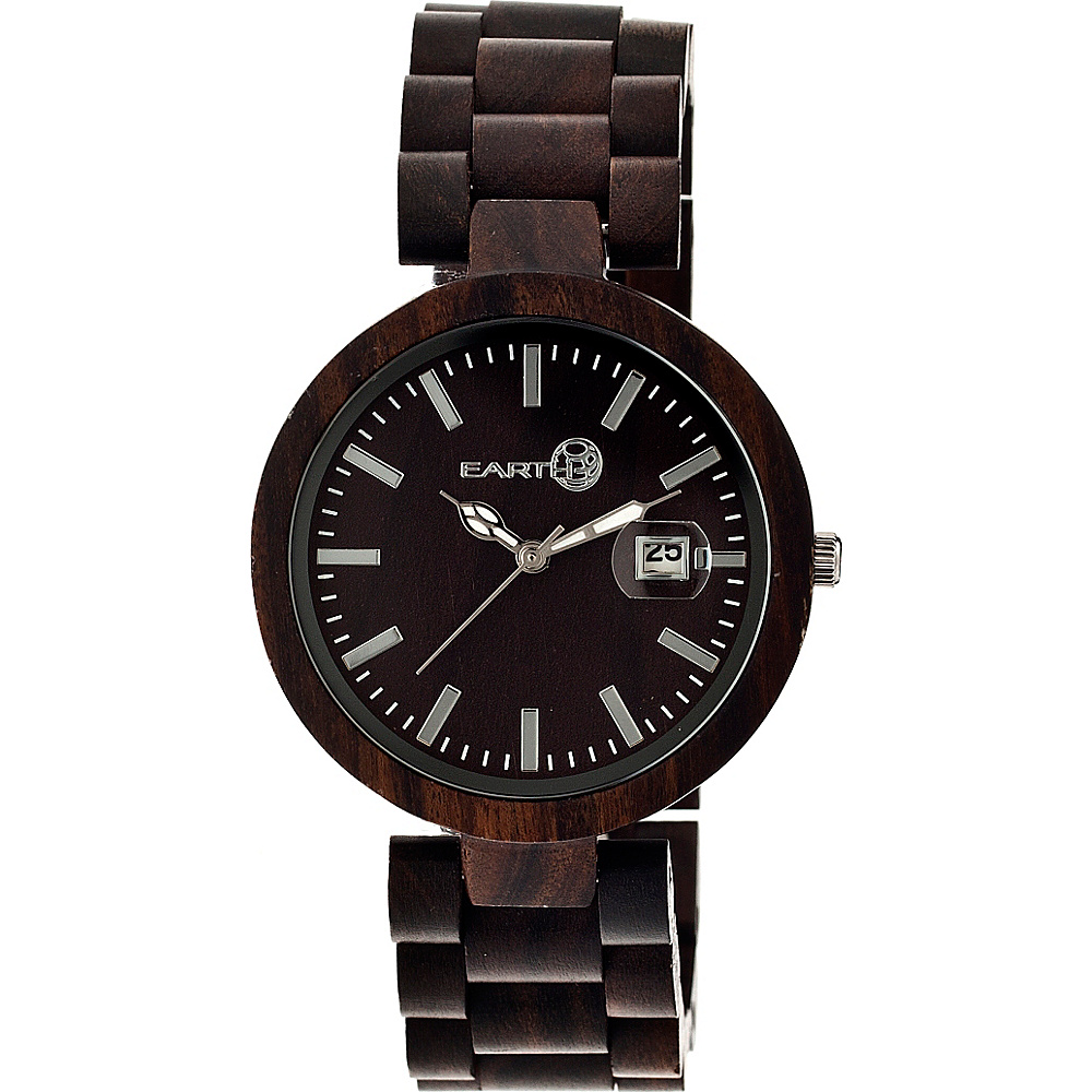 Earth Wood Stomates Watch Espresso Earth Wood Watches
