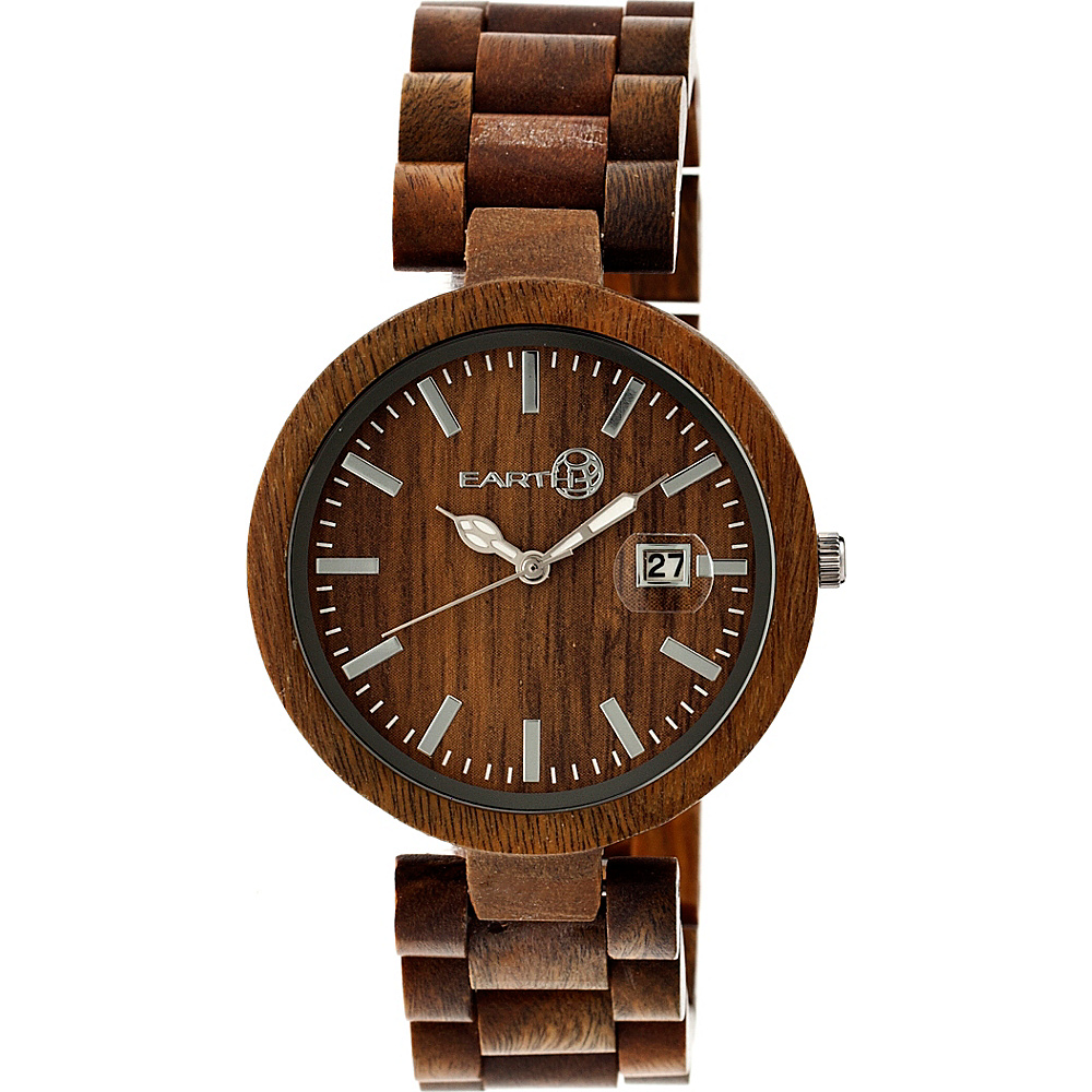 Earth Wood Stomates Watch Olive Earth Wood Watches