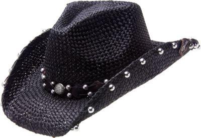 Peter Grimm Stallion Drifter Hat One Size - Black - Peter Grimm Hats/Gloves/Scarves