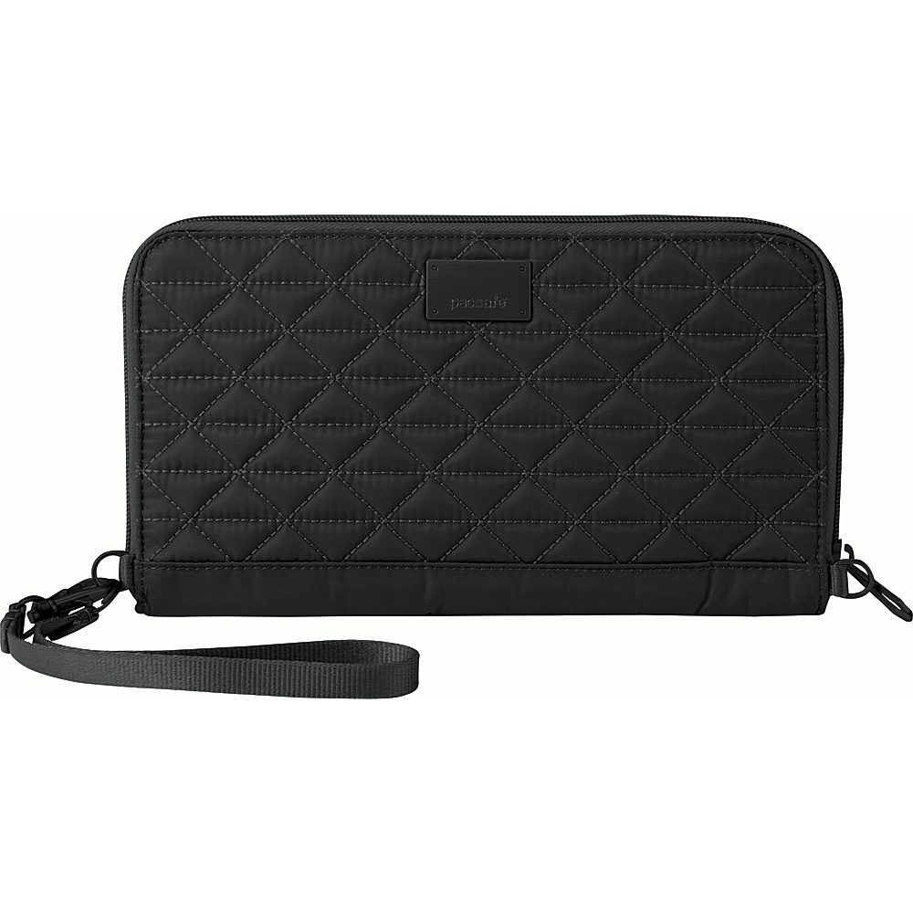 Pacsafe RFIDsafe W250 Black Pacsafe Women s Wallets