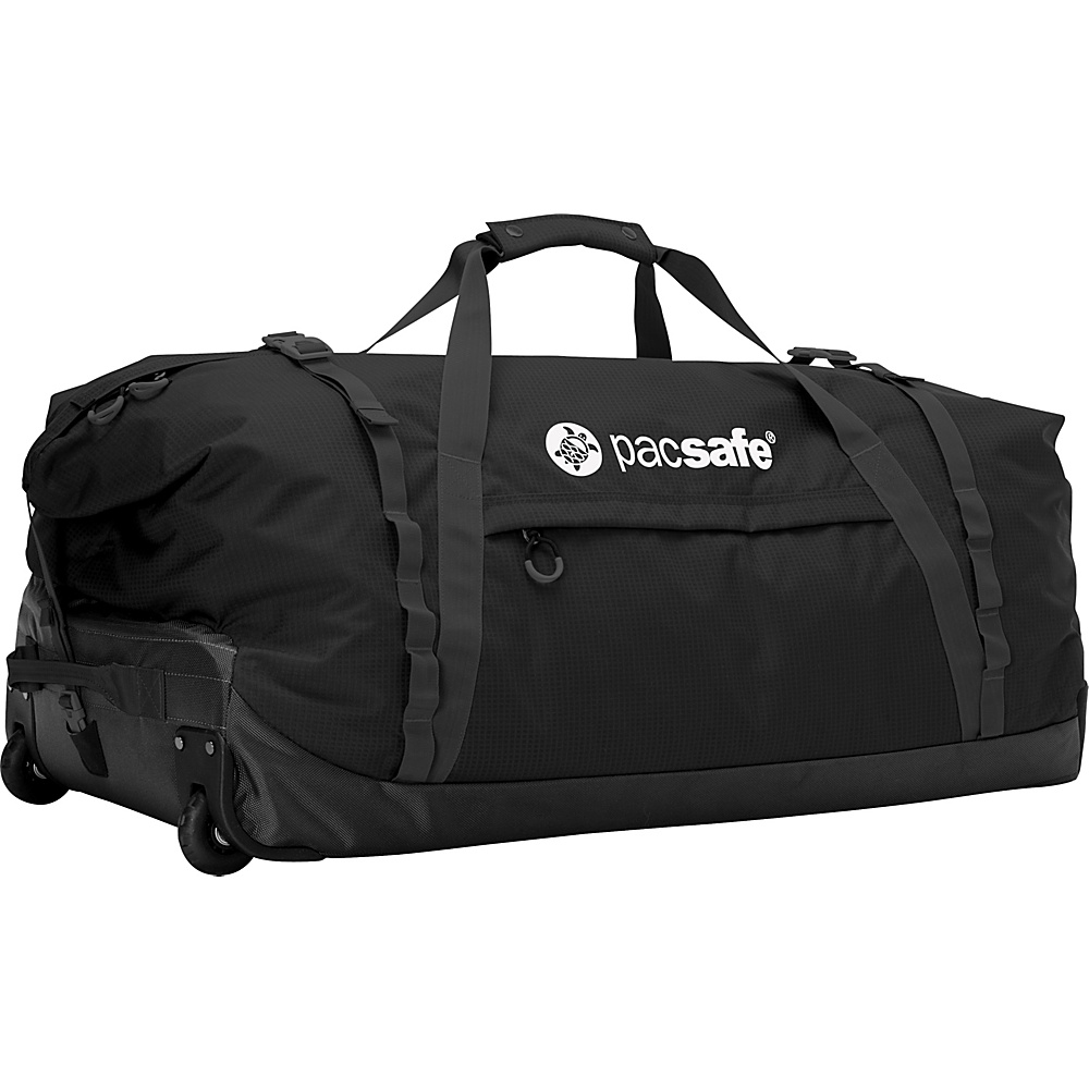 Pacsafe Duffelsafe AT120 Black Pacsafe Rolling Duffels