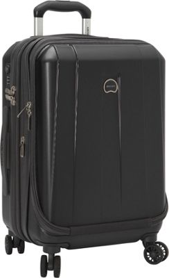 Delsey Helium Shadow 3.0 19 inch Int'l Carry-on Exp. Spinner Suiter Trolley Black - Delsey Hardside Carry-On