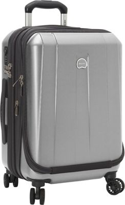 Delsey Helium Shadow 3.0 19 inch Int'l Carry-on Exp. Spinner Suiter Trolley Platinum - Delsey Hardside Carry-On