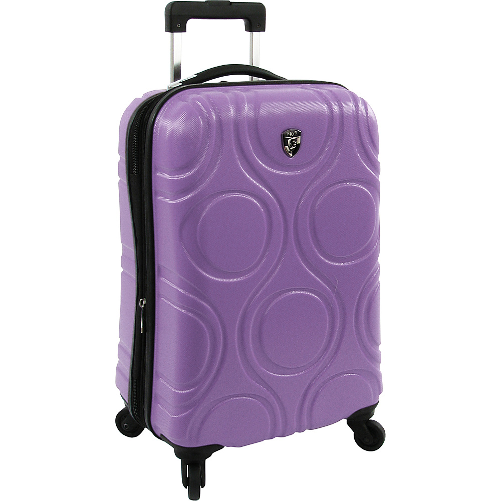 Heys America EcoOrbis 21 Upright Luggage Lilac Heys America Hardside Carry On