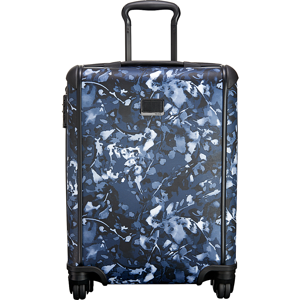 Tumi Tegra Lite Continental Carry-On Indigo Floral - Tumi Hardside Carry-On