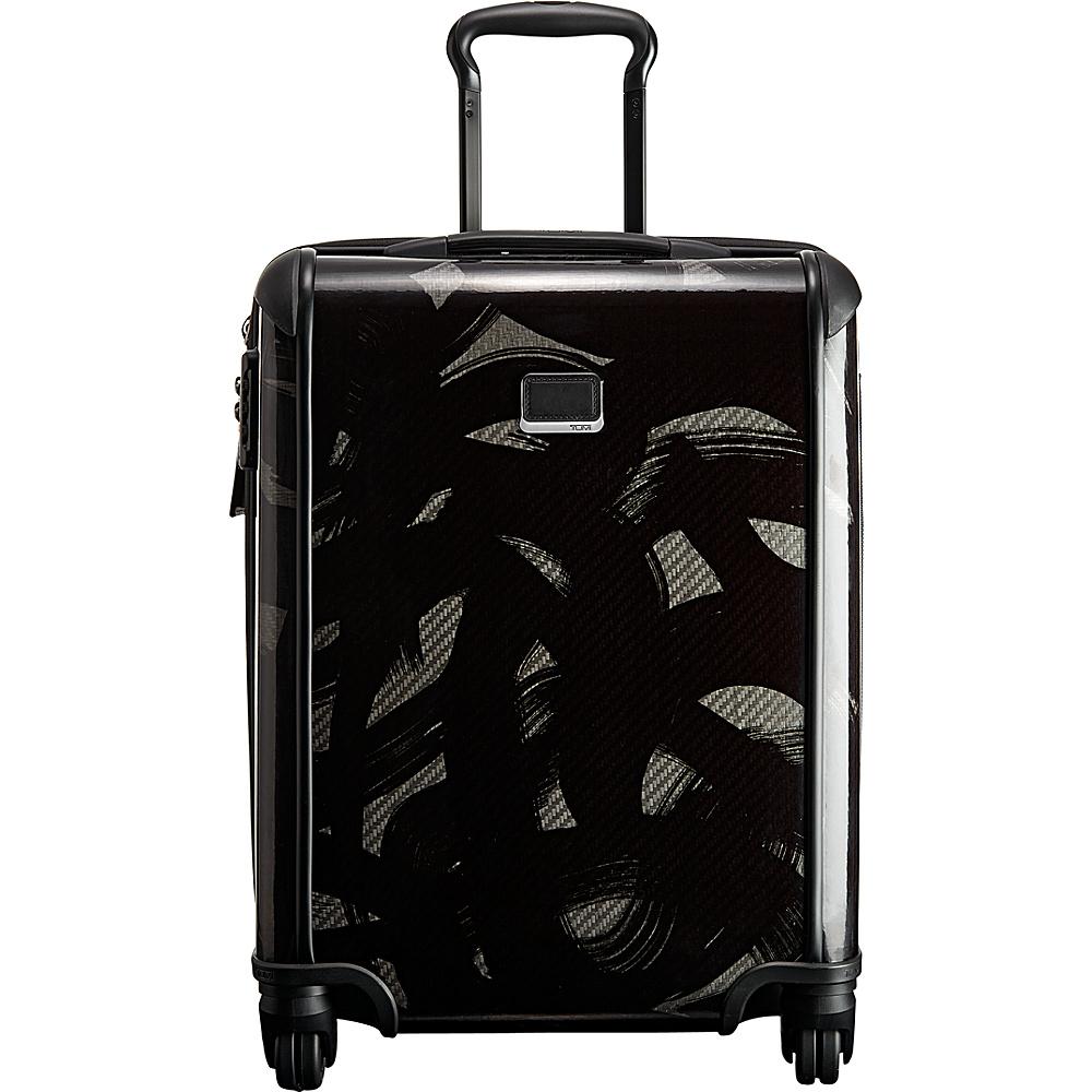 Tumi Tegra Lite Continental Carry-On Smoke Charcoal - Tumi Hardside Luggage