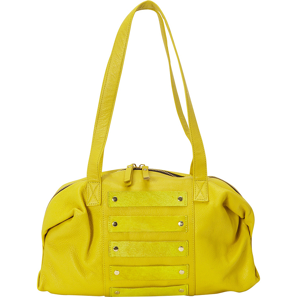 Latico Leathers Enzo Shoulder Bag Yellow - Latico Leathers Leather Handbags - Handbags, Leather Handbags