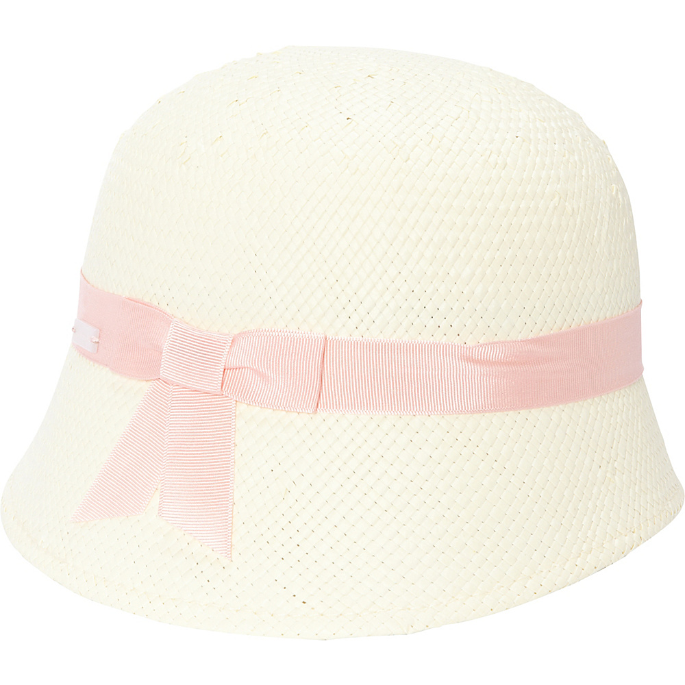 Betmar New York Miley Cloche One Size - Ivory/Pale Peach - Betmar New York Hats/Gloves/Scarves