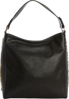 kensie Break Free Hobo Black - kensie Manmade Handbags