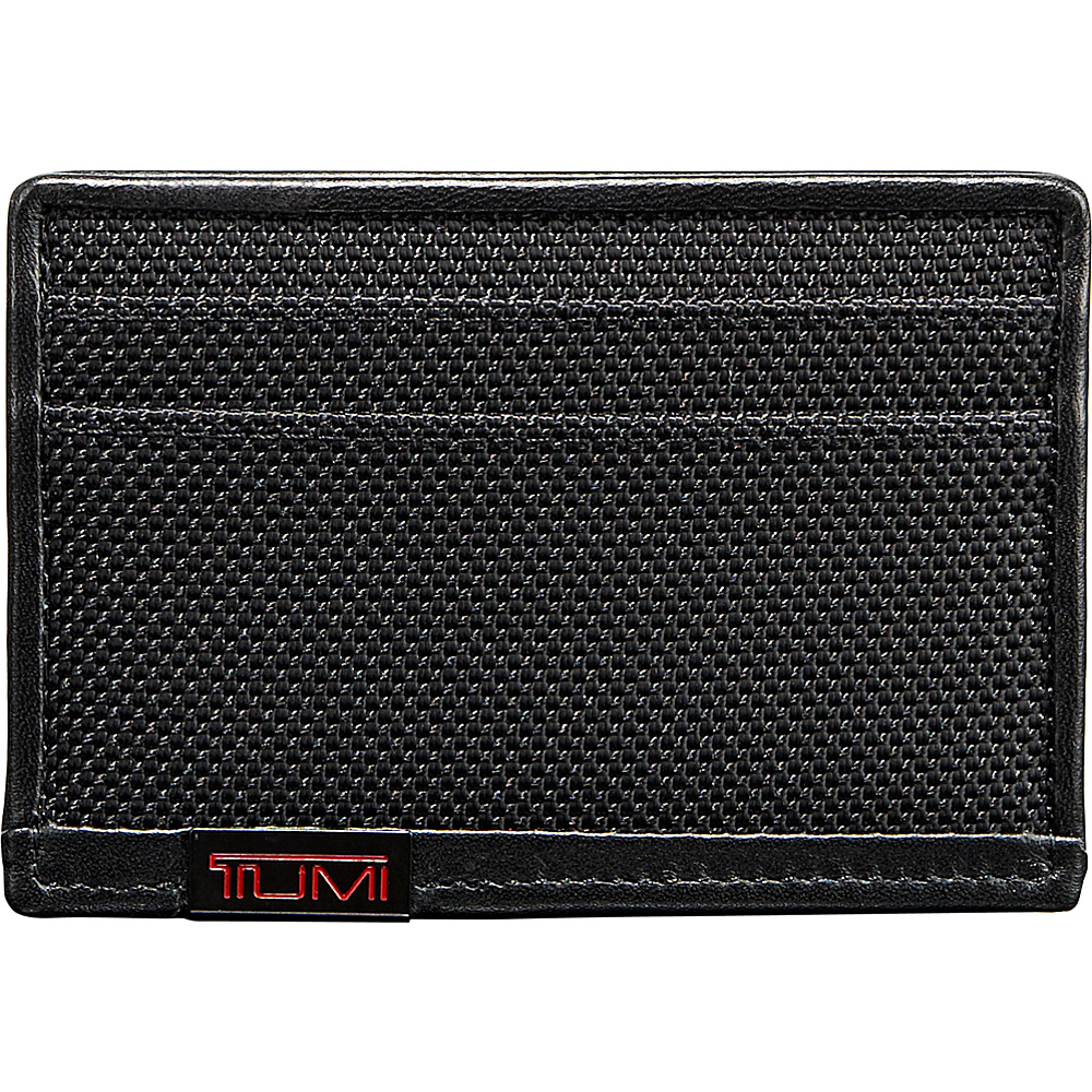 Tumi Alpha Slim Card Case Black - Tumi Mens Wallets - Work Bags & Briefcases, Men's Wallets