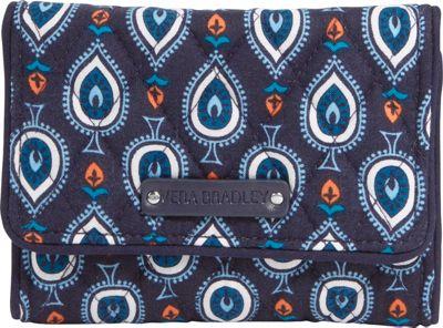 Vera Bradley Small Trifold Wallet Marrakesh Motifs - Vera Bradley Ladies Small Wallets