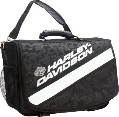 Harley Davidson by Athalon Xtreme Messenger Bag Night Vision - Harley Davidson by Athalon Messenger Bags