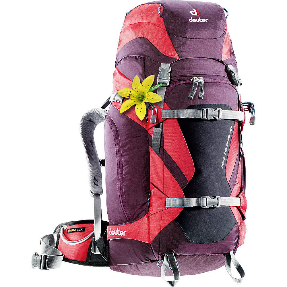 Deuter Rise Tour 40 SL aubergine fire Deuter Day Hiking Backpacks