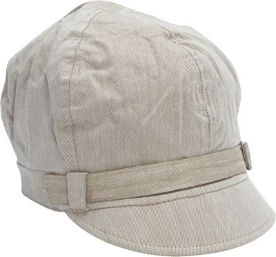 Magid Belted Newsboy Cap Tan - Magid Hats