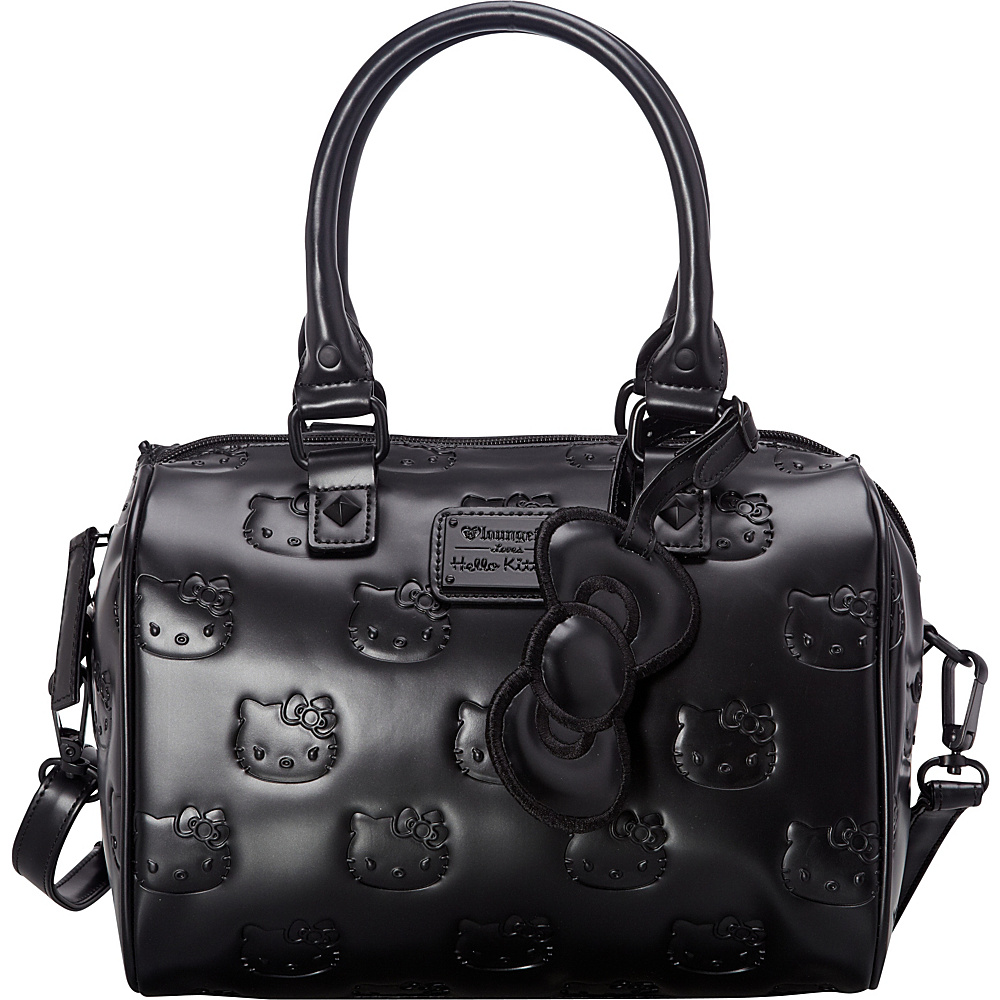 0bf53413d8  59.49 More Details · Loungefly Hello Kitty Angry Matte Black Emboss Mini  City Bag Black - Loungefly Manmade Handbags