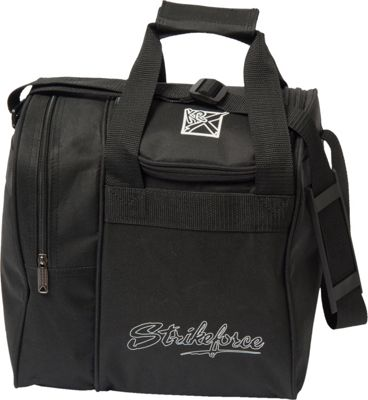 KR Strikeforce Bowling Rook Single Bowling Ball Tote Bag Black - KR Strikeforce Bowling Bowling Bags