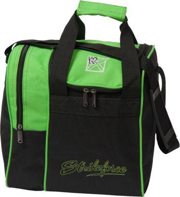KR Strikeforce Bowling Rook Single Bowling Ball Tote Bag Lime - KR Strikeforce Bowling Bowling Bags