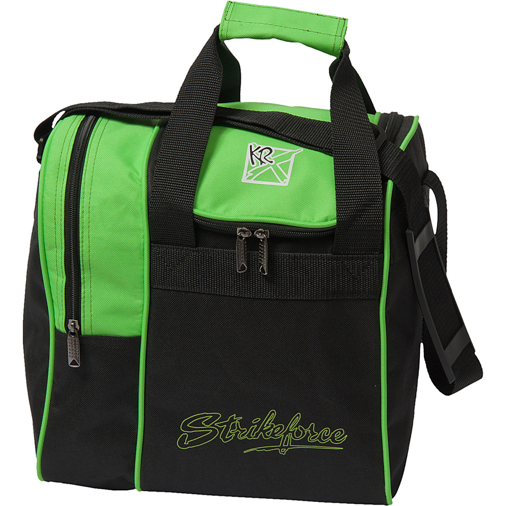KR Strikeforce Bowling Rook Single Bowling Ball Tote Bag Lime KR Strikeforce Bowling Bowling Bags