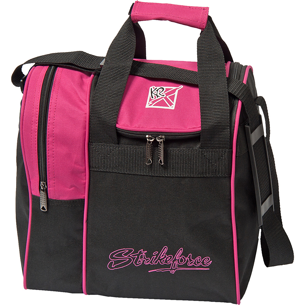 KR Strikeforce Bowling Rook Single Bowling Ball Tote Bag Pink KR Strikeforce Bowling Bowling Bags