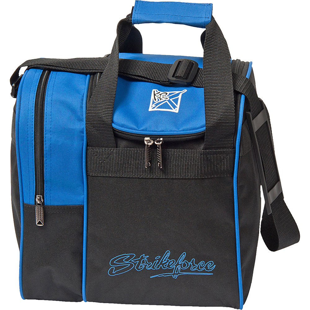 KR Strikeforce Bowling Rook Single Bowling Ball Tote Bag Royal KR Strikeforce Bowling Bowling Bags