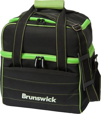 black singles in brunswick Brunswick edge single tote black the brunswick edge single tote features a detachable padded shoulder strap, two large side compartments for your bowling accessories and a shoe compartment that holds up to size 15 shoes.