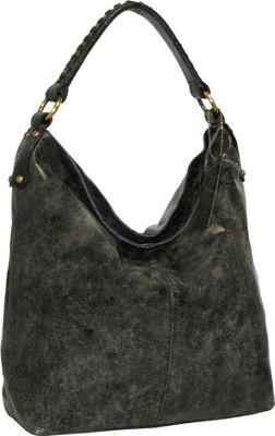 Nino Bossi First Class Shoulder Bag Black - Nino Bossi Leather Handbags