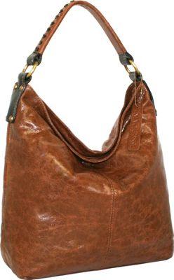 Nino Bossi First Class Shoulder Bag Cognac - Nino Bossi Leather Handbags