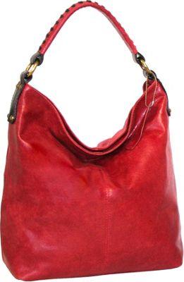 Nino Bossi First Class Shoulder Bag Red - Nino Bossi Leather Handbags