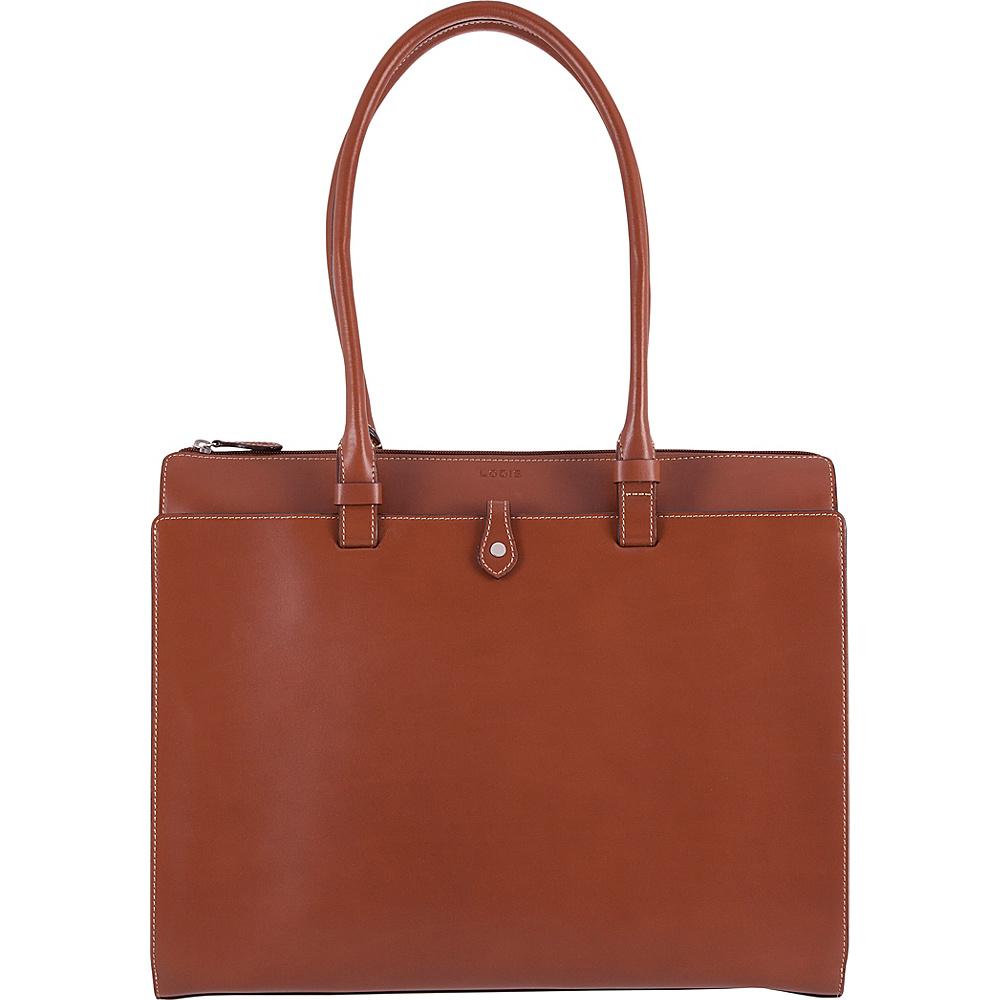 Lodis Audrey RFID Jessica Work Satchel Sequoia/Papaya - Lodis Leather Handbags - Handbags, Leather Handbags