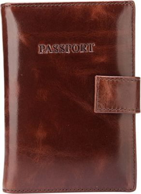 Vicenzo Leather London Distressed Leather Travel Passport Wallet Holder Case Espresso Brown - Vicenzo Leather Travel Wallets