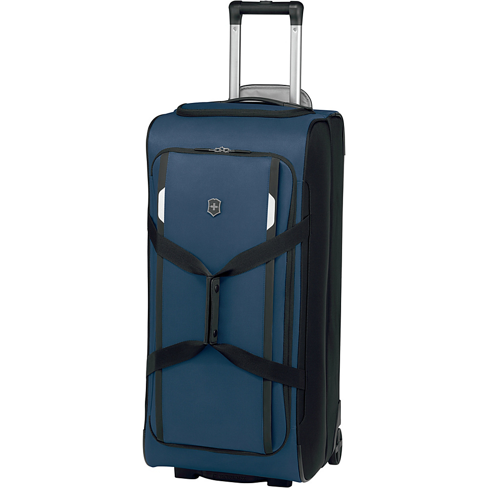 Victorinox Werks Traveler 5.0 WT Wheeled Duffel Navy Blue Victorinox Rolling Duffels