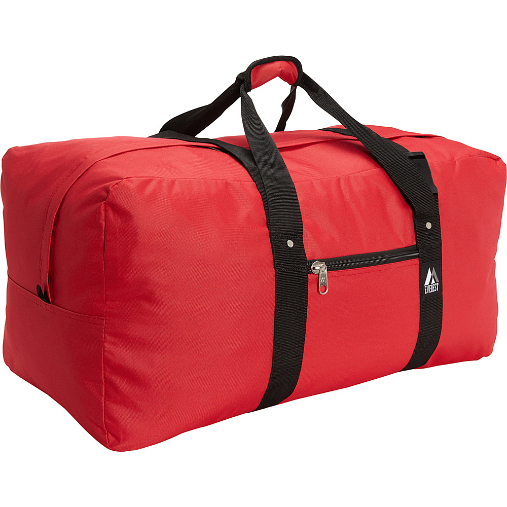Everest Cargo Duffel Red Everest Travel Duffels