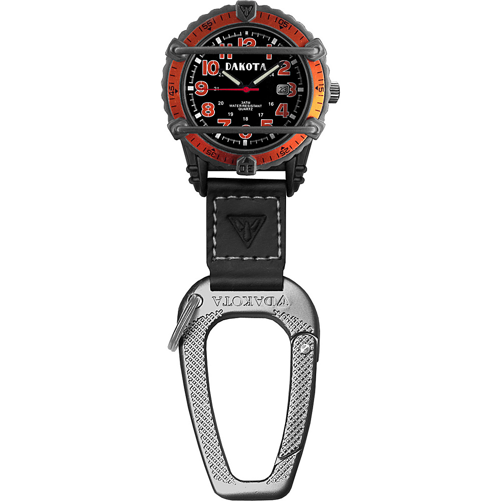 Dakota Watch Company Phase III Watch Orange with Black - Dakota Watch Company Watches