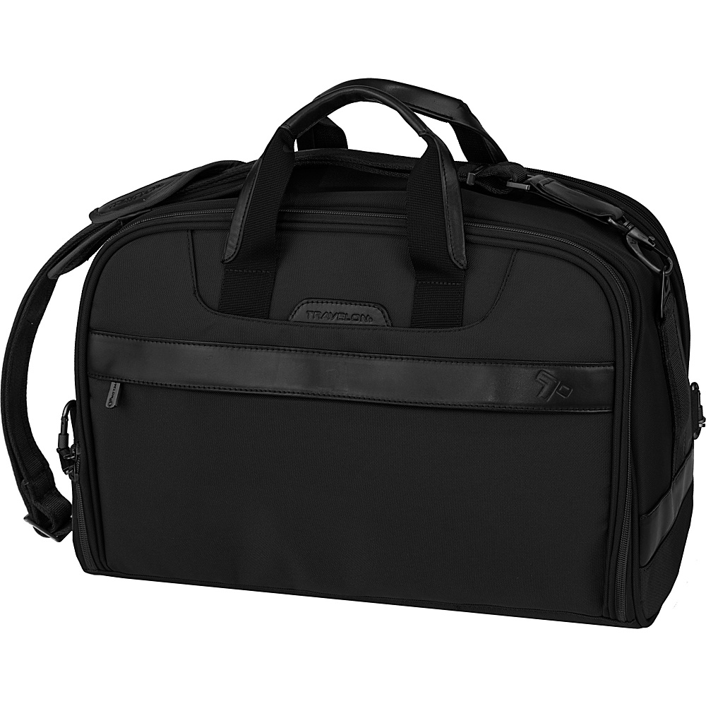 Travelon Anti-Theft Classic Weekender Black - Travelon Softside Carry-On - Luggage, Softside Carry-On