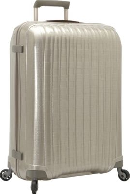 Hartmann Luggage Innovaire Extended Journey Spinner Ivory Gold - Hartmann Luggage Hardside Checked