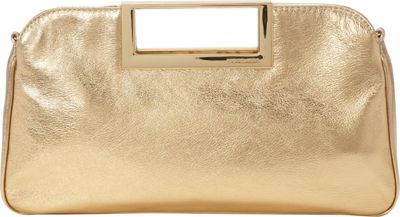 MICHAEL Michael Kors Berkley Large Clutch Pale Gold - MICHAEL Michael Kors Designer Handbags