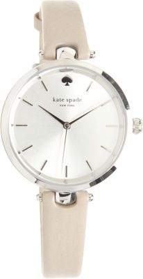 kate spade watches Holland Leather Watch Grey - kate spade watches Watches