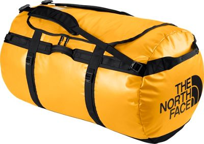 The North Face Base Camp Duffel Small Summit Gold/TNF Black - S - The North Face Outdoor Duffels