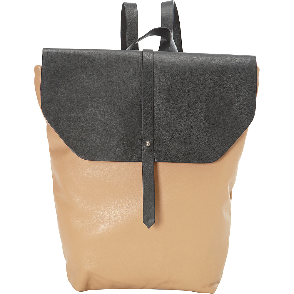 Hadaki Primavera Backpack Semolina - Hadaki Leather Handbags - Handbags, Leather Handbags