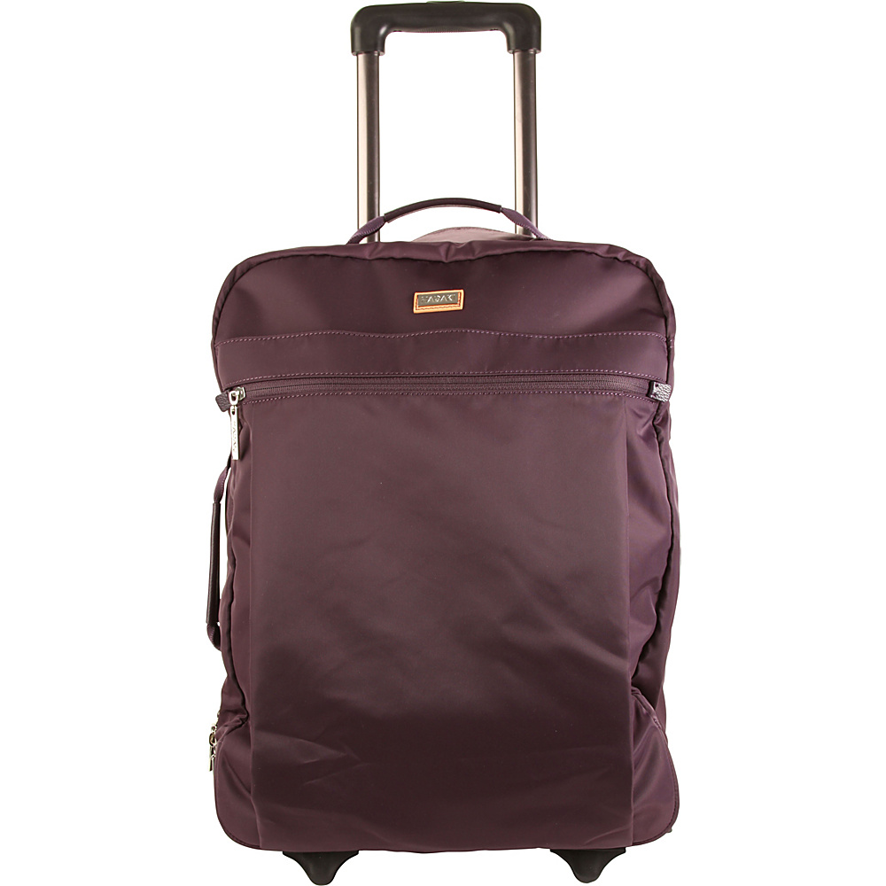Hadaki Plane Hopping Roller Plum Perfect Solid - Hadaki Softside Carry-On