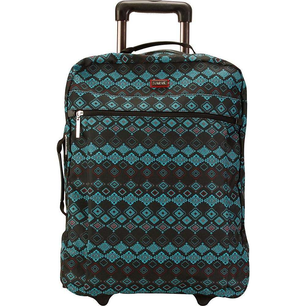 Hadaki Plane Hopping Roller Geo - Hadaki Softside Carry-On - Luggage, Softside Carry-On