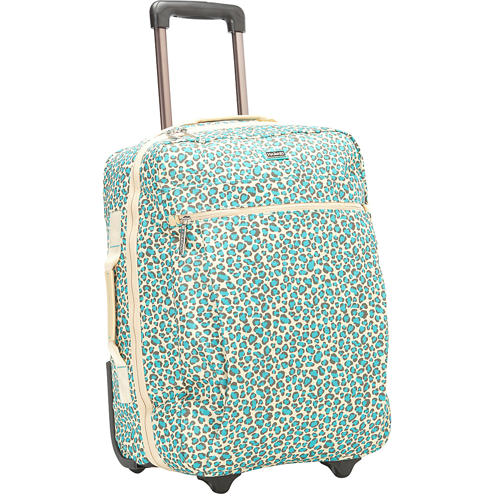 Hadaki Plane Hopping Roller Primavera Cheetah - Hadaki Softside Carry-On - Luggage, Softside Carry-On