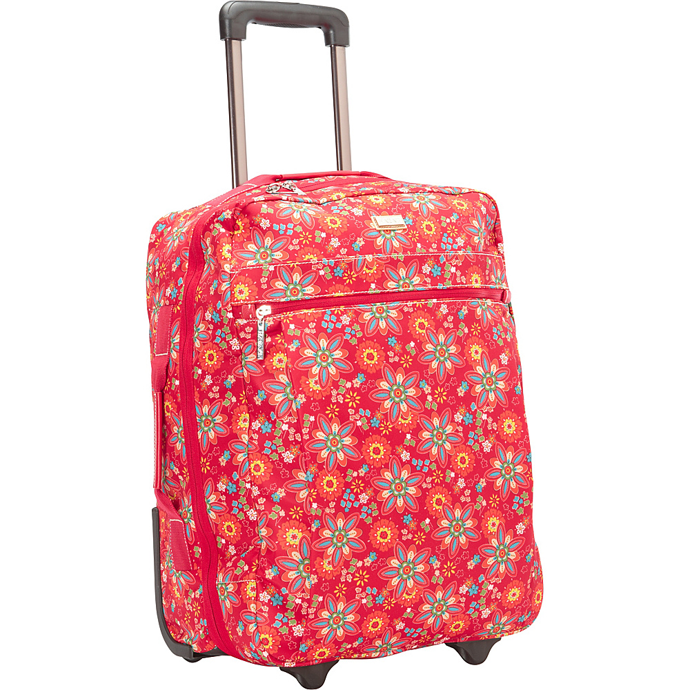 Hadaki Plane Hopping Roller Primavera Floral - Hadaki Softside Carry-On - Luggage, Softside Carry-On