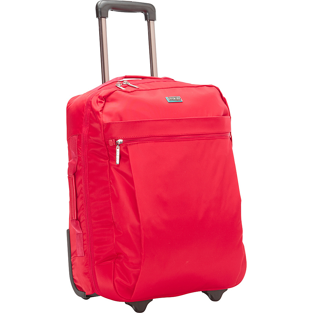 Hadaki Plane Hopping Roller Tango Red - Hadaki Softside Carry-On - Luggage, Softside Carry-On