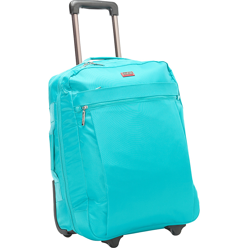 Hadaki Plane Hopping Roller Viridian Green - Hadaki Softside Carry-On - Luggage, Softside Carry-On