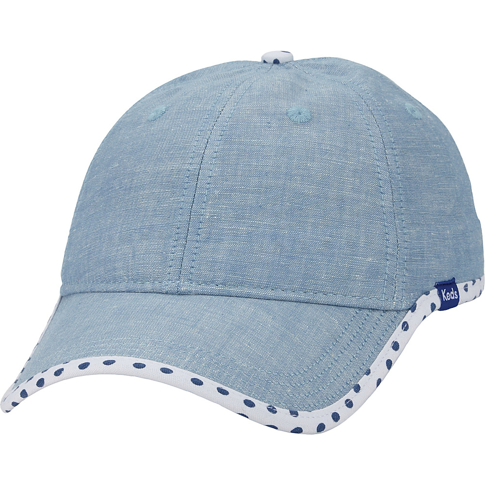 Keds Chambray Baseball Cap Classic Chambray Keds Hats Gloves Scarves